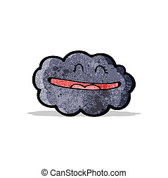 漫画, 雲