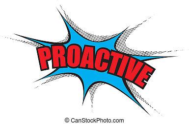 漫画, cloud:, proactive