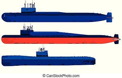 潜水艦, 交通機関, 軍