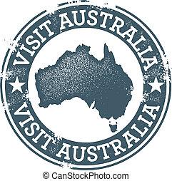 澳大利亞, 訪問