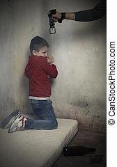 濫用, 犠牲者, 子供
