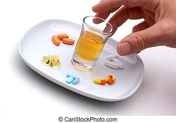 濫用, 薬