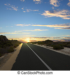 瀝青柏油路, 在, 農村
