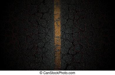 瀝青柏油路