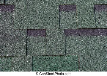 瀝青, 屋根板