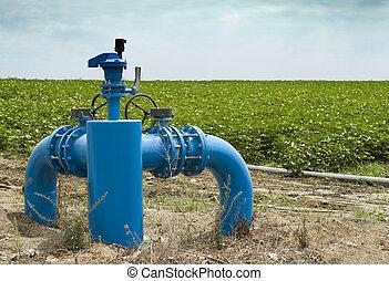 灌溉, 系統