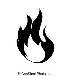 火の印, 炎, アイコン