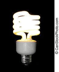 火をつけられた, コンパクト, 蛍光, 電球, ライト