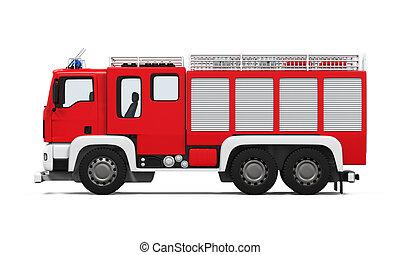 火トラック, 救出