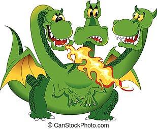 火呼吸, ドラゴン