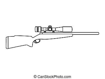 火器, ライフル銃, 武器