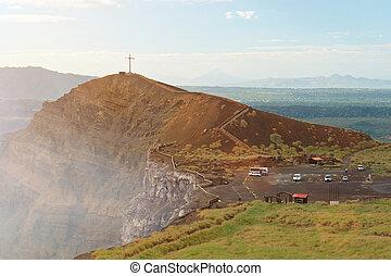 火山, masaya, 風景