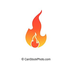 火, エネルギー, ガス, オイル, ベクトル, 炎, テンプレート, ロゴ, アイコン