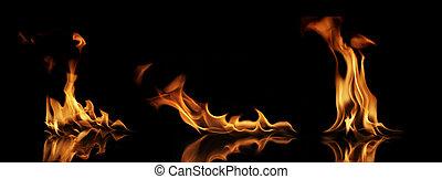 火, コレクション