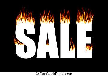 火, セール