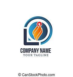 火, テンプレート, 炎, ロゴ, アイコン, ベクトル, オイル, ガス, 概念, エネルギー