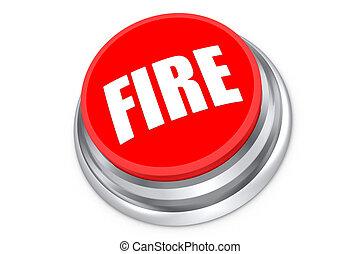 火, ボタン