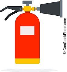 火, 二酸化物, 炭素, 消火器