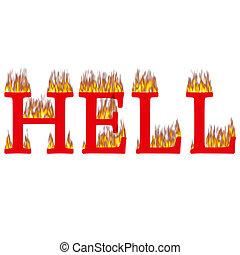 火, 地獄