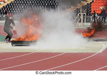 火, 応用, スポーツ
