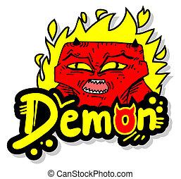 火, 悪魔