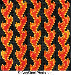 火, 抽象的, seamless