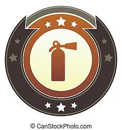 火 消火器, ボタン, 帝国