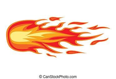 火, 火焰