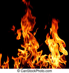 火, 火焰, 關閉