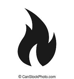 火, 炎, アイコン