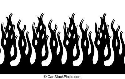 火, 炎, イラスト