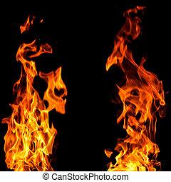 火, 背景