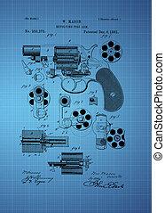 火, 腕, 1881, 回転式である, 特許
