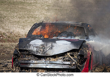 火, 自動車