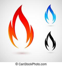 火, 要素