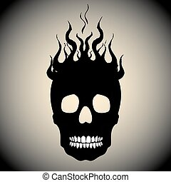 火, 頭骨, 炎
