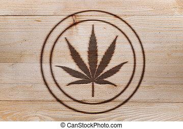 火, branded, 大麻