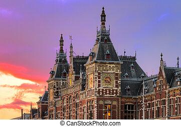 火, cs, 空, アムステルダム