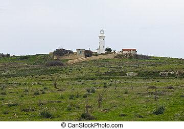 ∥, 灯台, の, paphos