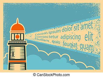 灯台, ポスター