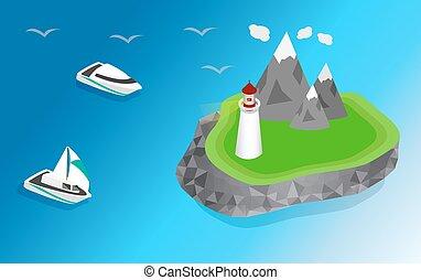 灯台, 船, 航海