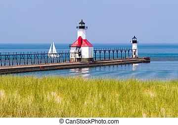 灯台, st. 。, ヨセフ, ミシガン州