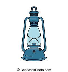 灯油, コンパス, ランプ, ガイド