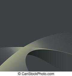 灰色, イラスト, 抽象的, eps10., ライン, バックグラウンド。, ベクトル