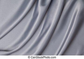 灰色, サテン, 生地