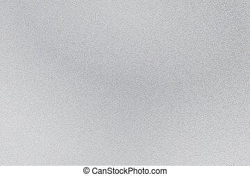灰色, シート, ステンレス食器, 抽象的, 背景, 手ざわり