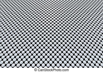 灰色, 丸薬, 配列
