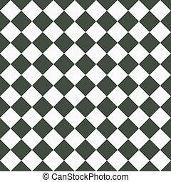 灰色, 媒体, チェッカー, 生地, seamless, 対角線, 背景, textured, 白, 繰り返し