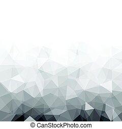 灰色, 幾何学的, 手ざわり, 抽象的, バックグラウンド。