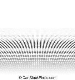 灰色, 広告, ポスター, pop-art, 行動, テンプレート, dots., 広告, minimalistic, ...